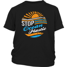 Stop Ocean Plastic Big Kid Shirt - KOBU.US