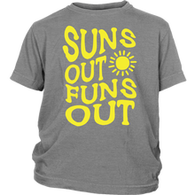 Suns Out Funs Out Big Kid Shirt - KOBU.US