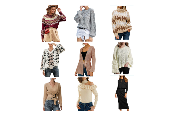 Style Quiz:  More Sweaters Under $30