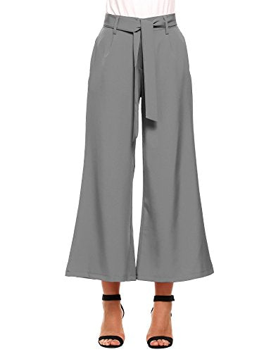 Zeagoo Wide Leg High Waist Pants