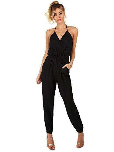 Romwe Tapered Romper Jumpsuit