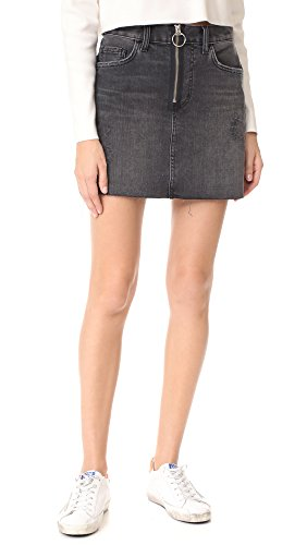Siwy Madonna Mini Skirt in Black Vintage Cadillac