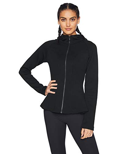 Core 10 Motion Tech Fleece Peplum Hoodie Jacket
