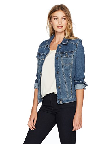 Riders by Lee Indigo Stretch Denim Jacket