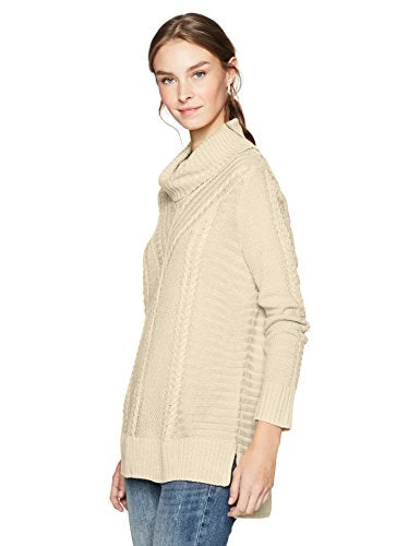 Kensie Cable Knit Turtleneck Sweater