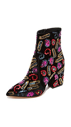 Loeffler Randall Isla Embroidered Booties