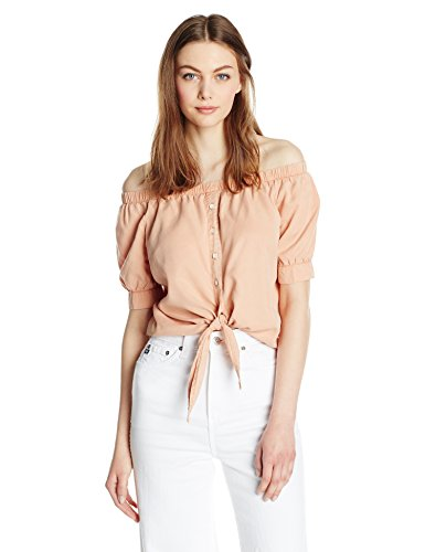 Noisy May Endi Off Shoulder Tie Shirt