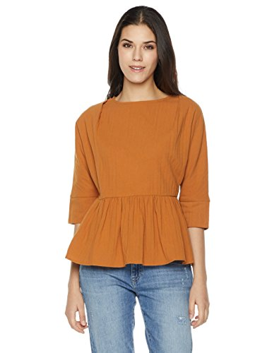 Plumberry Ruffle Hem Top