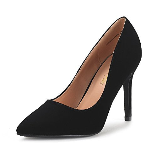 DREAM PAIRS CHRISTIAN-Pointed Toe High Heel Dress Pumps