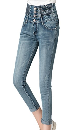 Chickle Ruched Elastic Skinny Jean