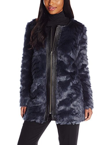 NYDJ Magical Faux Fur Coat