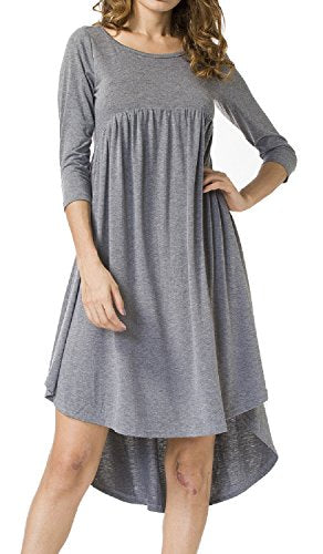 LILBETTER High Low Swing Dress