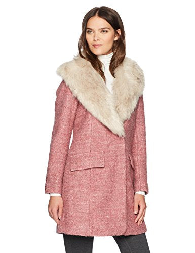 Belle Badgley Mischka Holly Coat