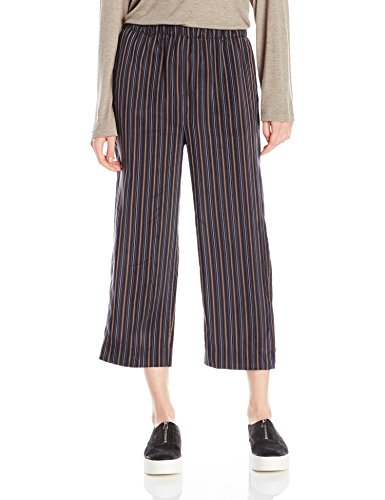Vince Stripe Slouchy Crop Pull-on