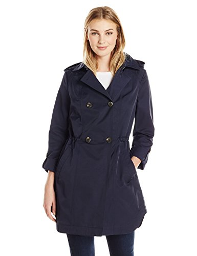 Lark & Ro Double Breasted Cinch Trench Coat