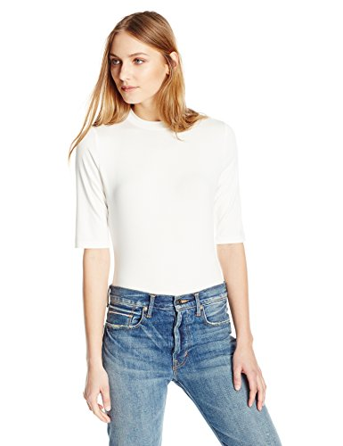 Essentialist High Crew-Neck Half-Sleeve Bodysuit