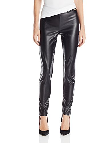Pleather Front Leggings