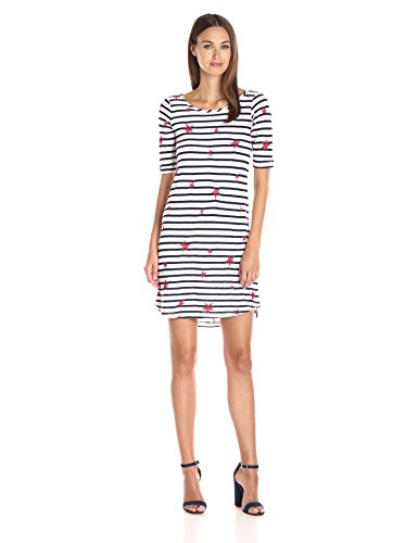 Splendid Venice Stripe with Star Print Dress