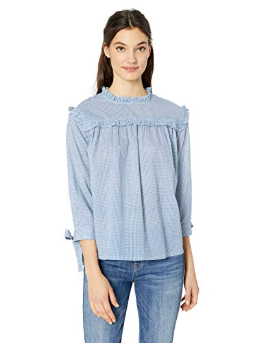 Serene Bohemian Full Sleeves Yoke Ruffle Top