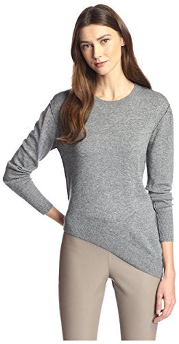 James & Erin Contrast Stitch Crewneck Sweater