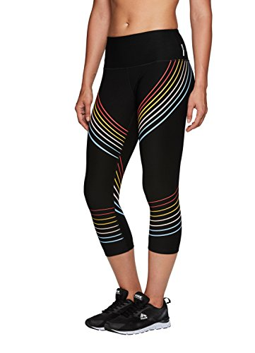 RBX Active Capri Legging with mesh Inserts