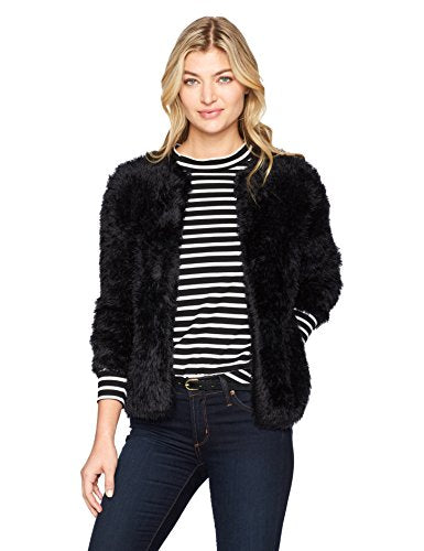 Calvin Klein Furry Open Cardigan