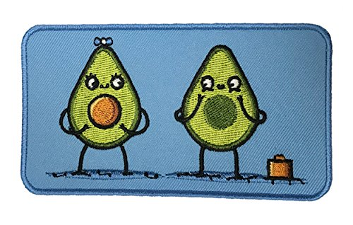 "Randy Otter ""Avacado Baby"" Seed Vegetable Parents Patch"