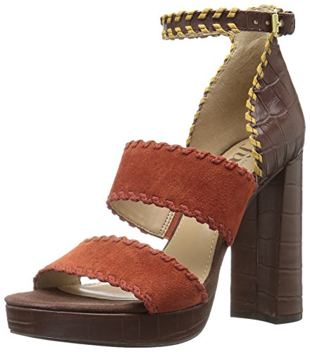 The Fix Garza Whipstitch Platform Dress Sandal