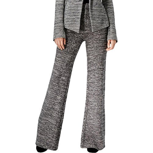 RACHEL Rachel Roy Woven Knit Wide Leg Pants