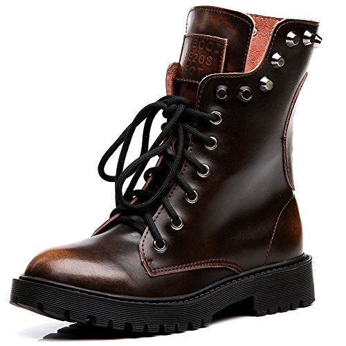 Shenn Military Combat Boots