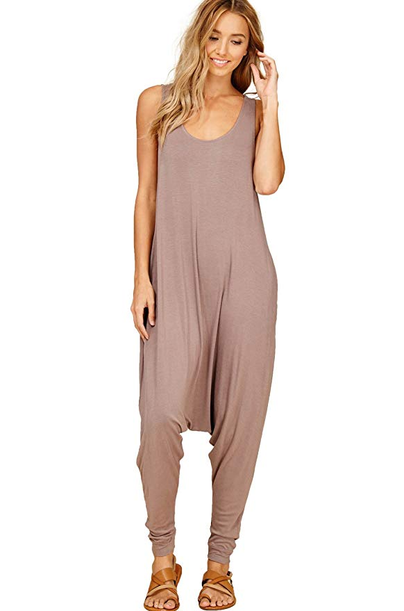 Annabelle Harem Jumpsuits with Pockets