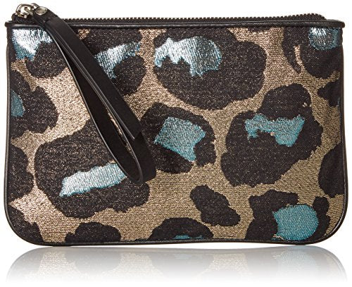 Marc by Marc Jacobs The Roxy 20 Devine Leopard Lurex Wristlet