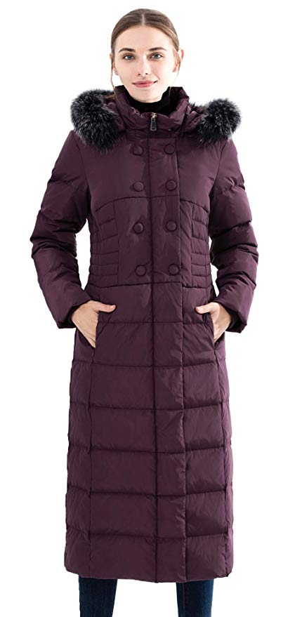 Obosoyo Hooded Thickened Parka Puffer Coat