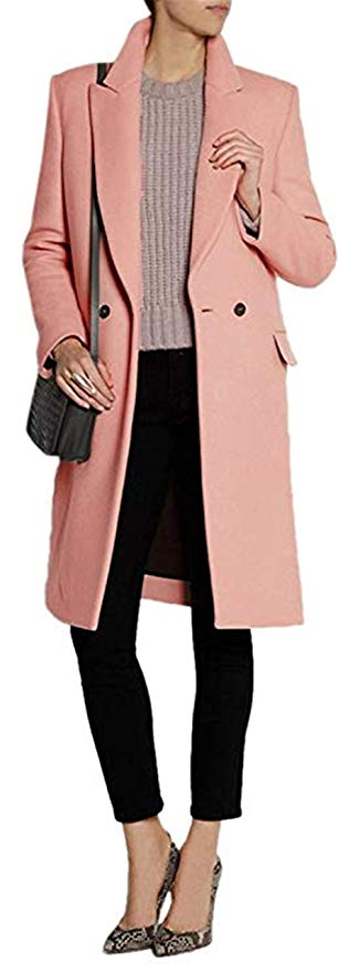 CHANGLIU LIN Wool Blend Thick Coat