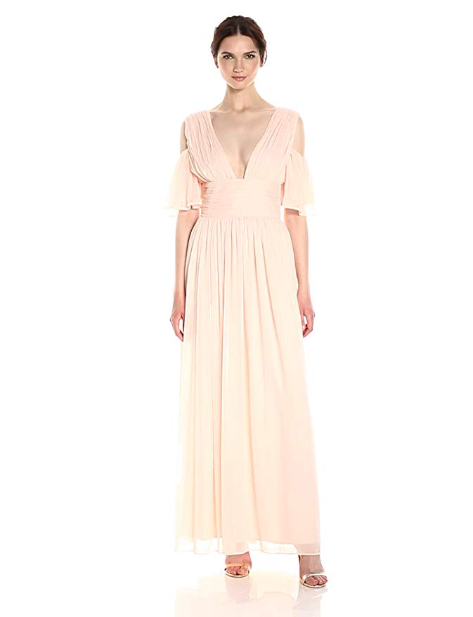 French Connection Constance Drape Maxi Dress