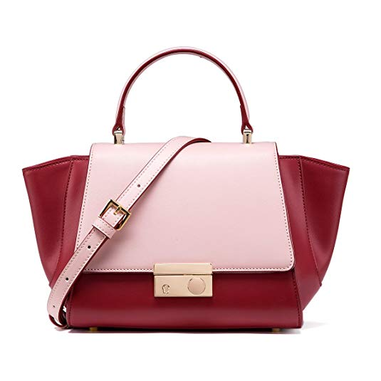 LA'FESTIN Colorblock Satchel