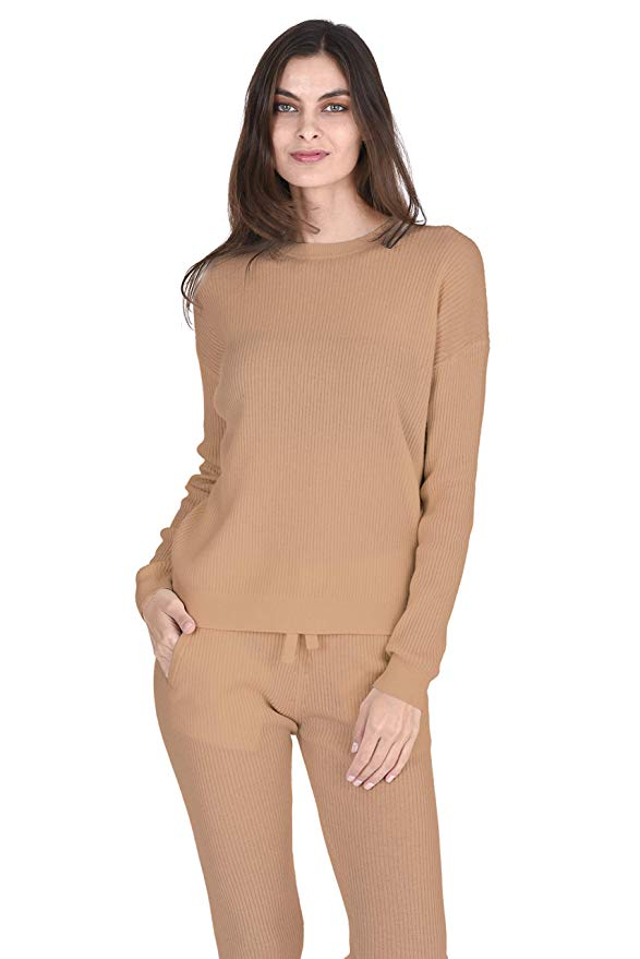 State Cashmere 100% Cashmere Loungewear Sweater