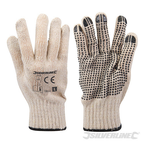 Single-Sided Dot Gloves (Large Only)