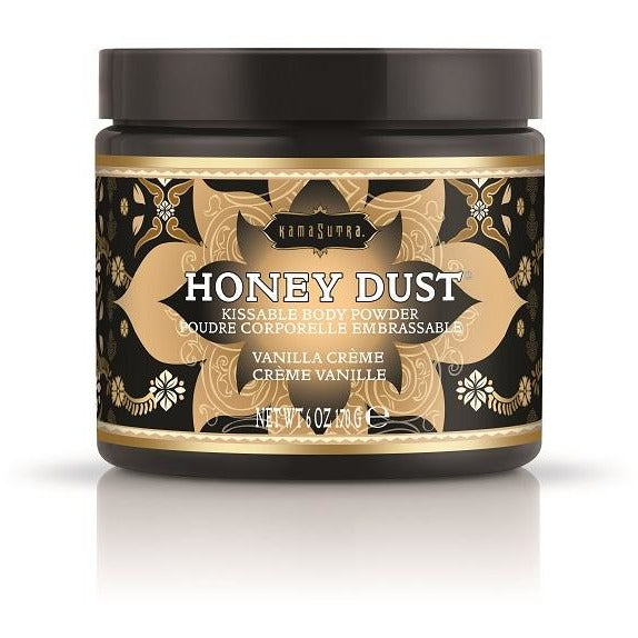 Kama Sutra Honey Dust 6oz - Vanilla Creme