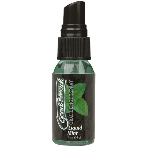 Doc Johnson Good Head Liquid Mint Oral Delight Spray 1oz