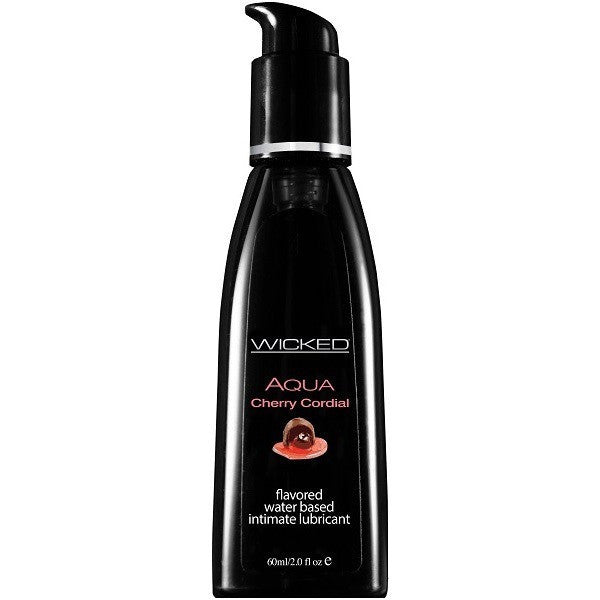 Wicked Aqua Cherry Cordial 2oz - Flavored Personal Lubricant