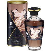Shunga Aphrodisiac Warming Oil 3.5oz - Intoxicating Chocolate