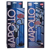 Apollo Premium Power Pump Blue - Male Penis Pump Enlarger