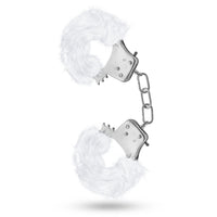 Temptasia Plush Fur Cuffs - White