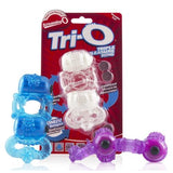 Screaming O The Tri-O Triple Pleasure Cock Ring - Assorted Colors
