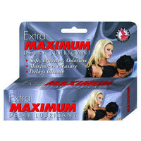 Extra Maximum Delay Lube - .5oz