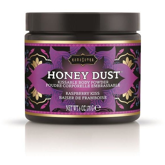 Kama Sutra Honey Dust 6oz - Raspberry Kiss