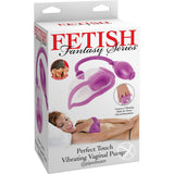 Fetish Fantasy Perfect Touch Vibrating Vaginal Pump - Female Sexual Arousal