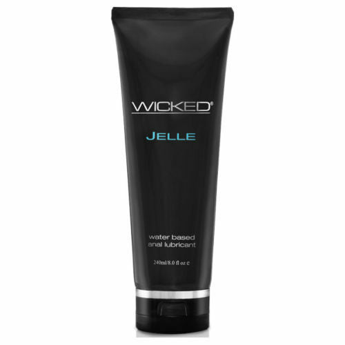 Wicked Jelle Water-Based Anal Lubricant 8oz