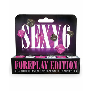 Sexy 6 - Couples Romantic Bedroom Foreplay Dice Game